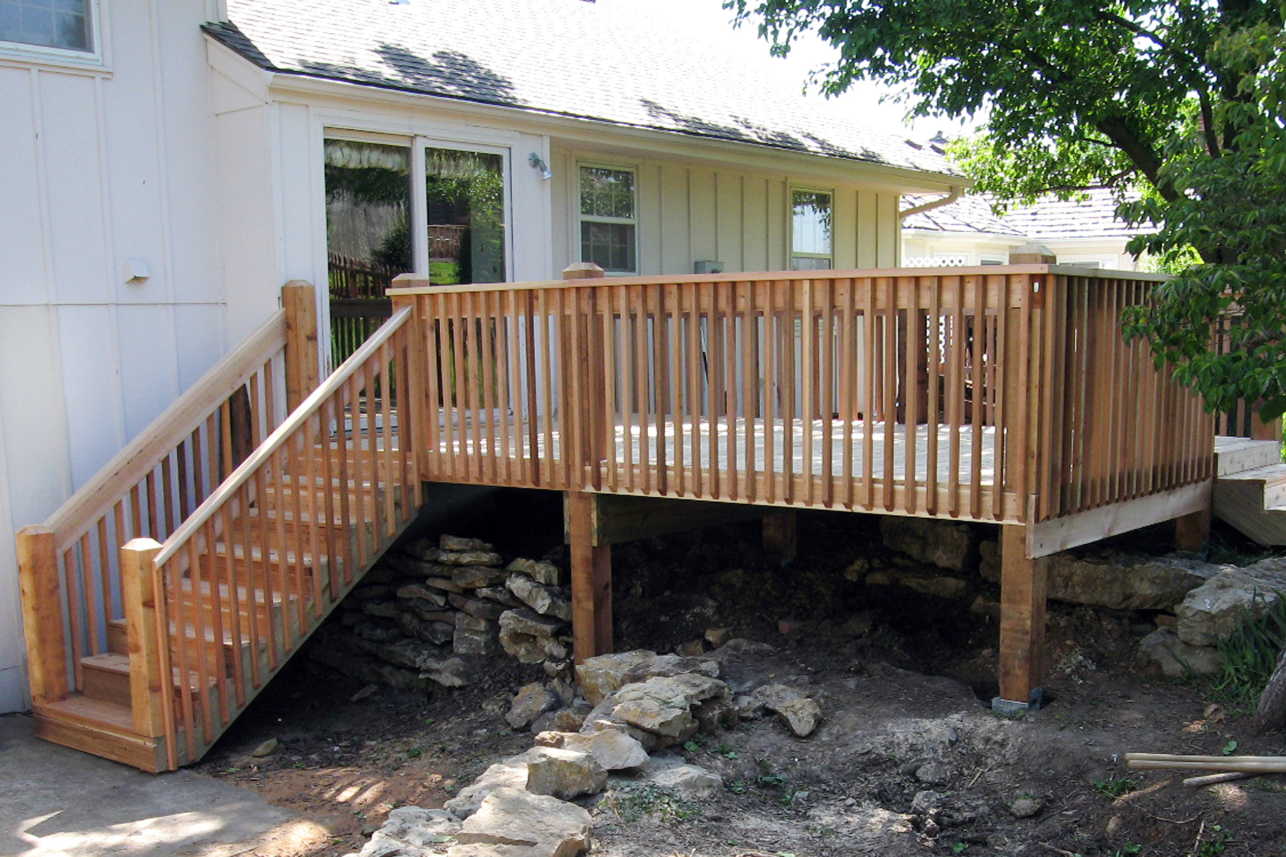 Best Deck design and installation services in Kansas City, Dave Dinkel, RoyalCraftsmen.com, Repair and Finishing